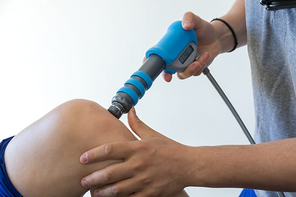 our Kitsilano do shockwave therapy for knees